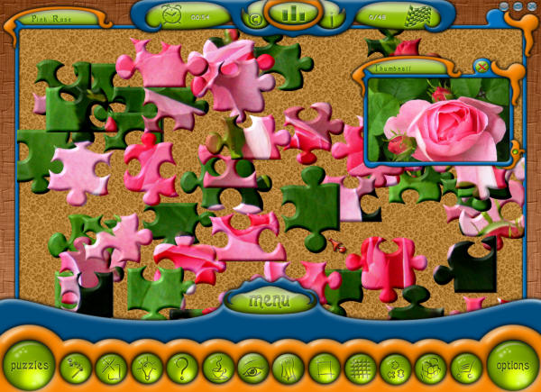 Click to view Cute Jigsaw Puzzle screenshots
